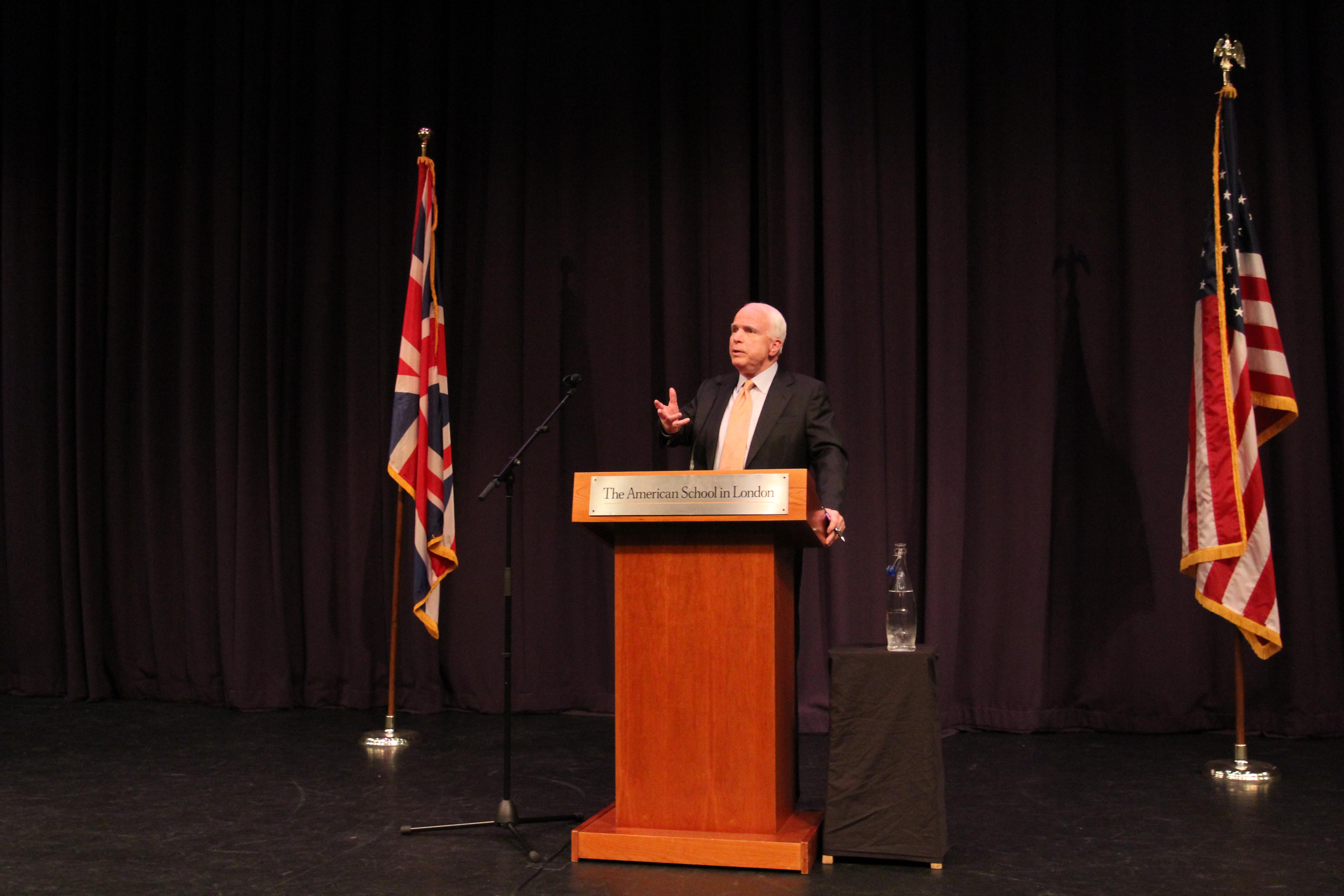 Q & A with Senator John McCain (R-AZ)