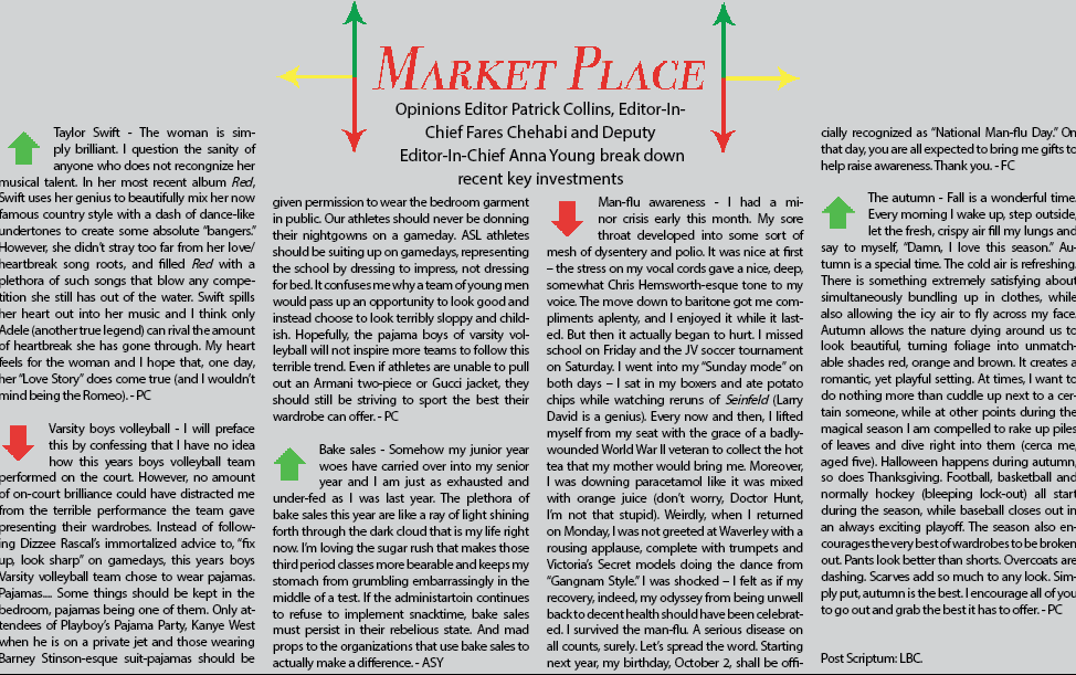 The Marketplace: Issue II