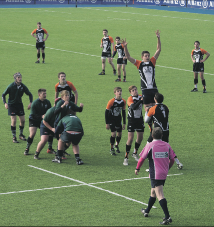 Rugby plays at Allianz Park