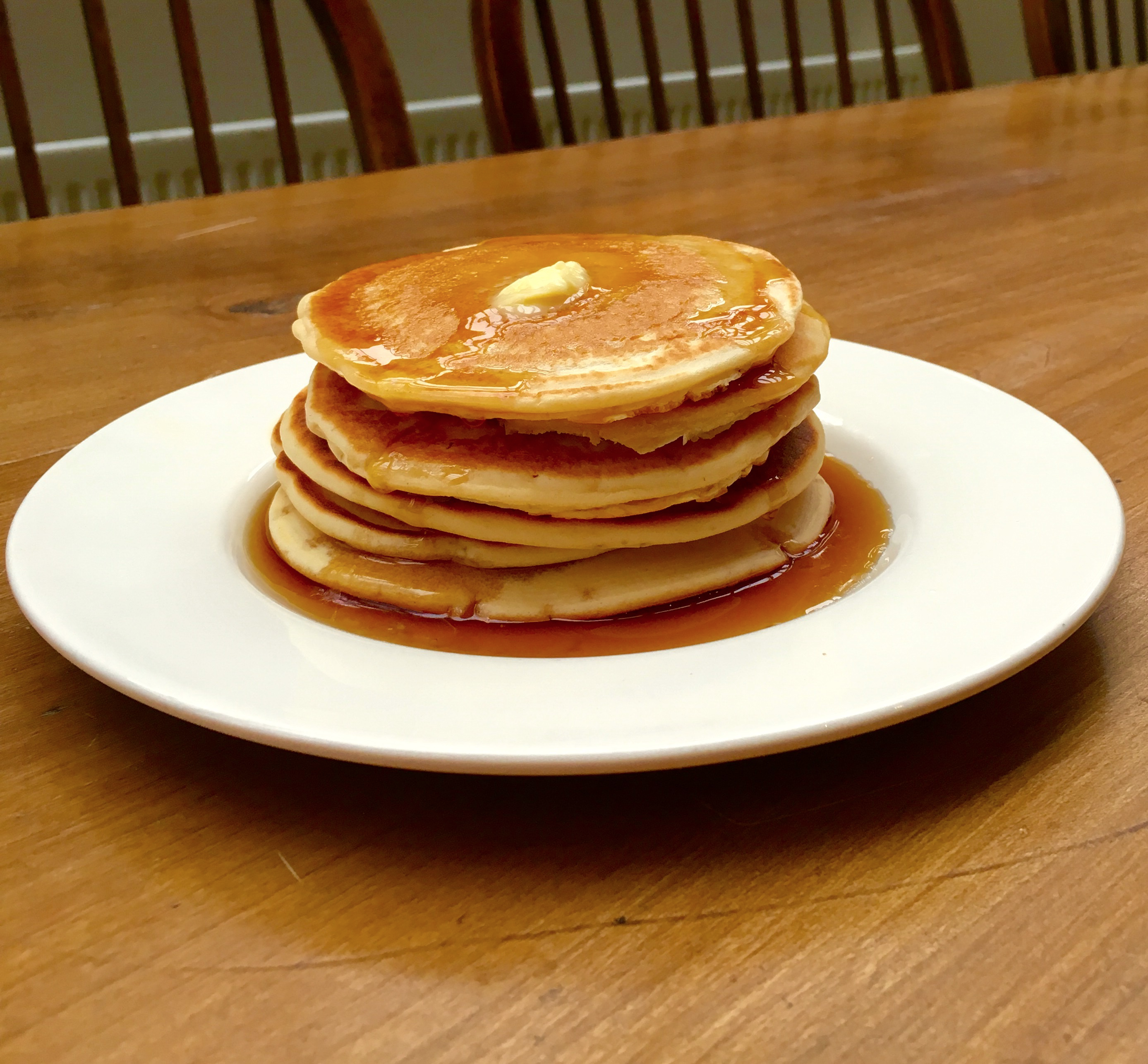 Perfect pancakes in 15 minutes