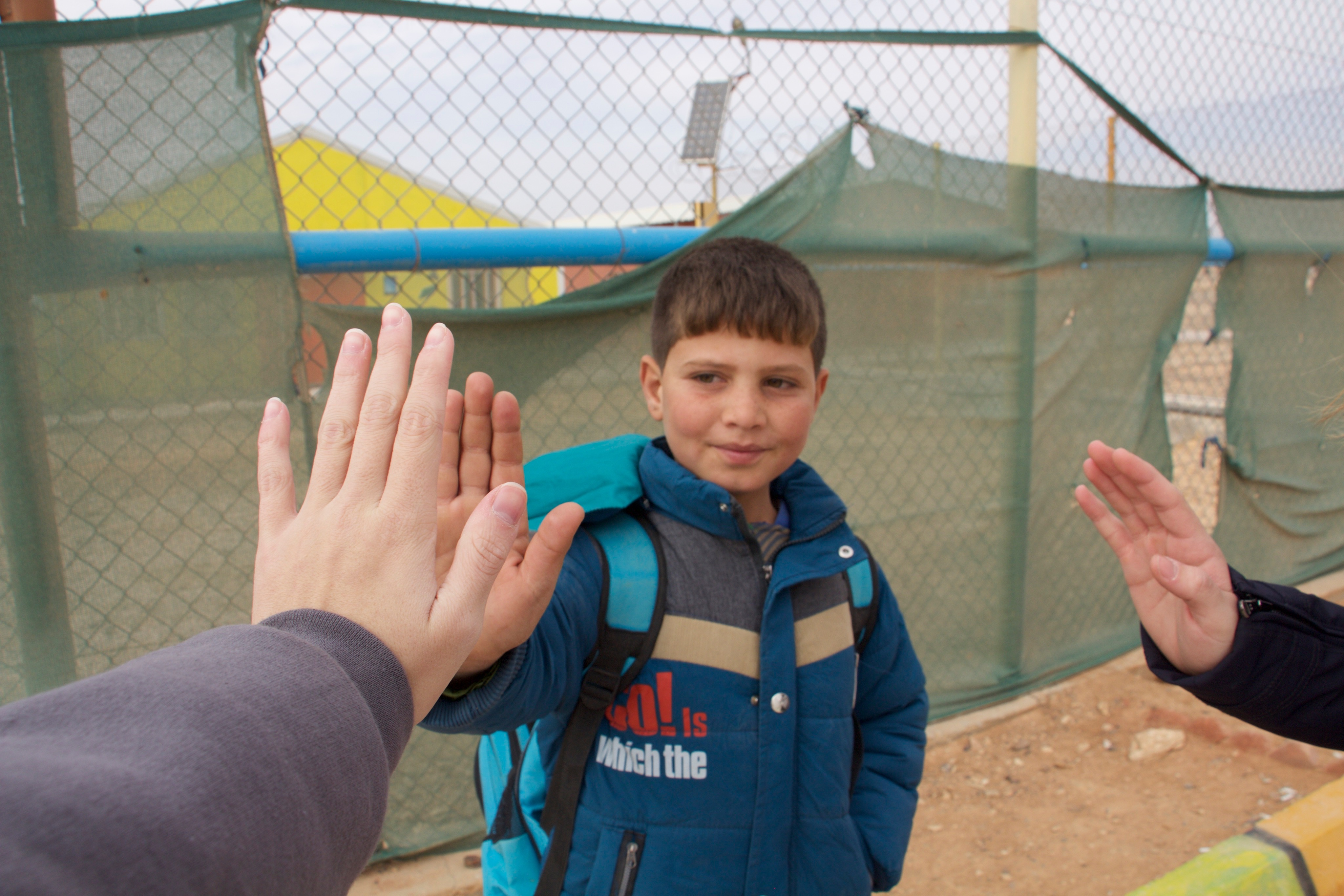 Students travel to refugee camps
