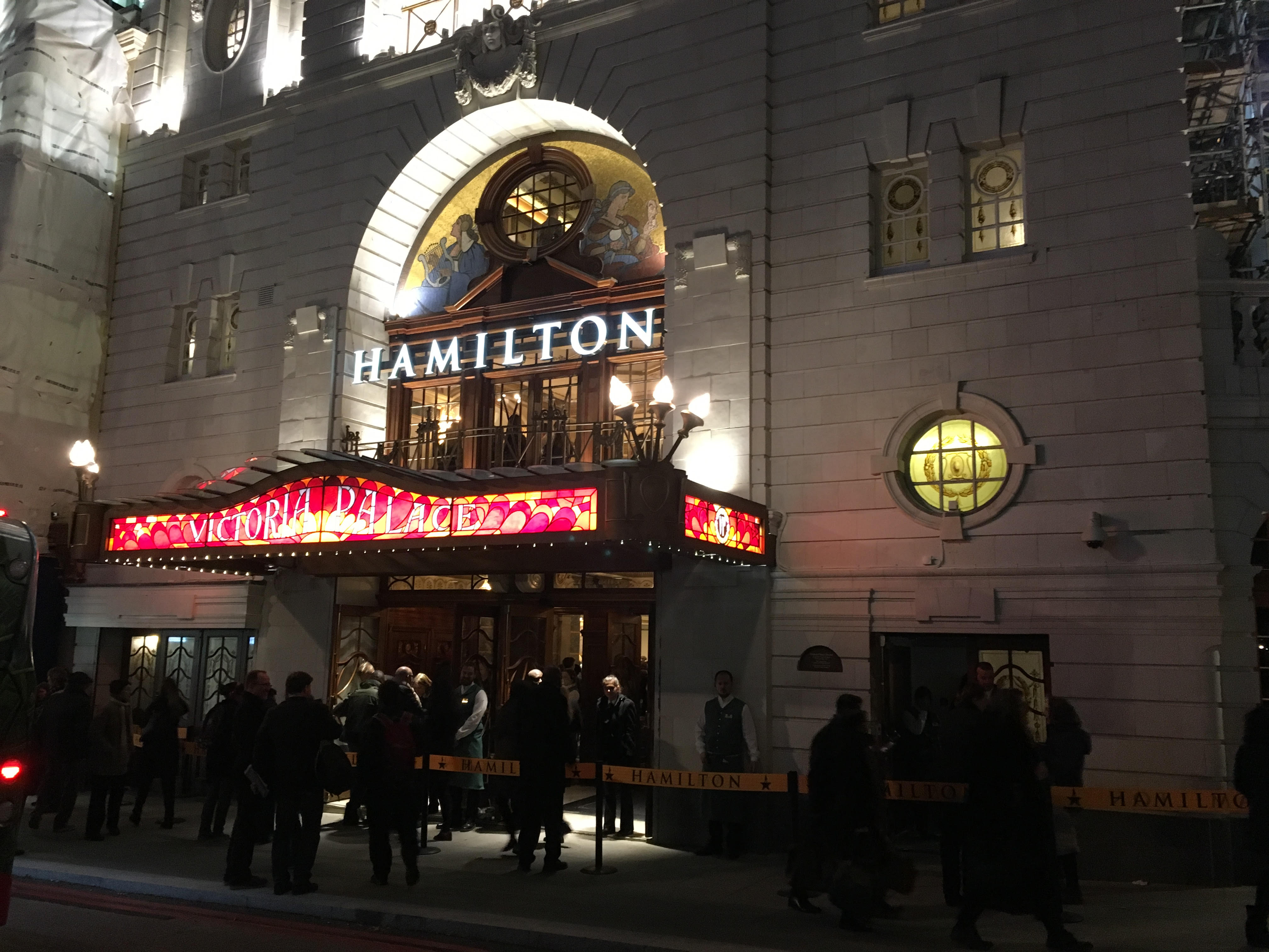 Hamilton crosses the pond for West End premiere