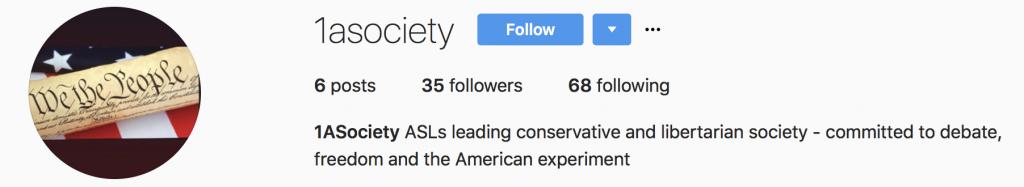 ASL's new club: the First Amendment Society
