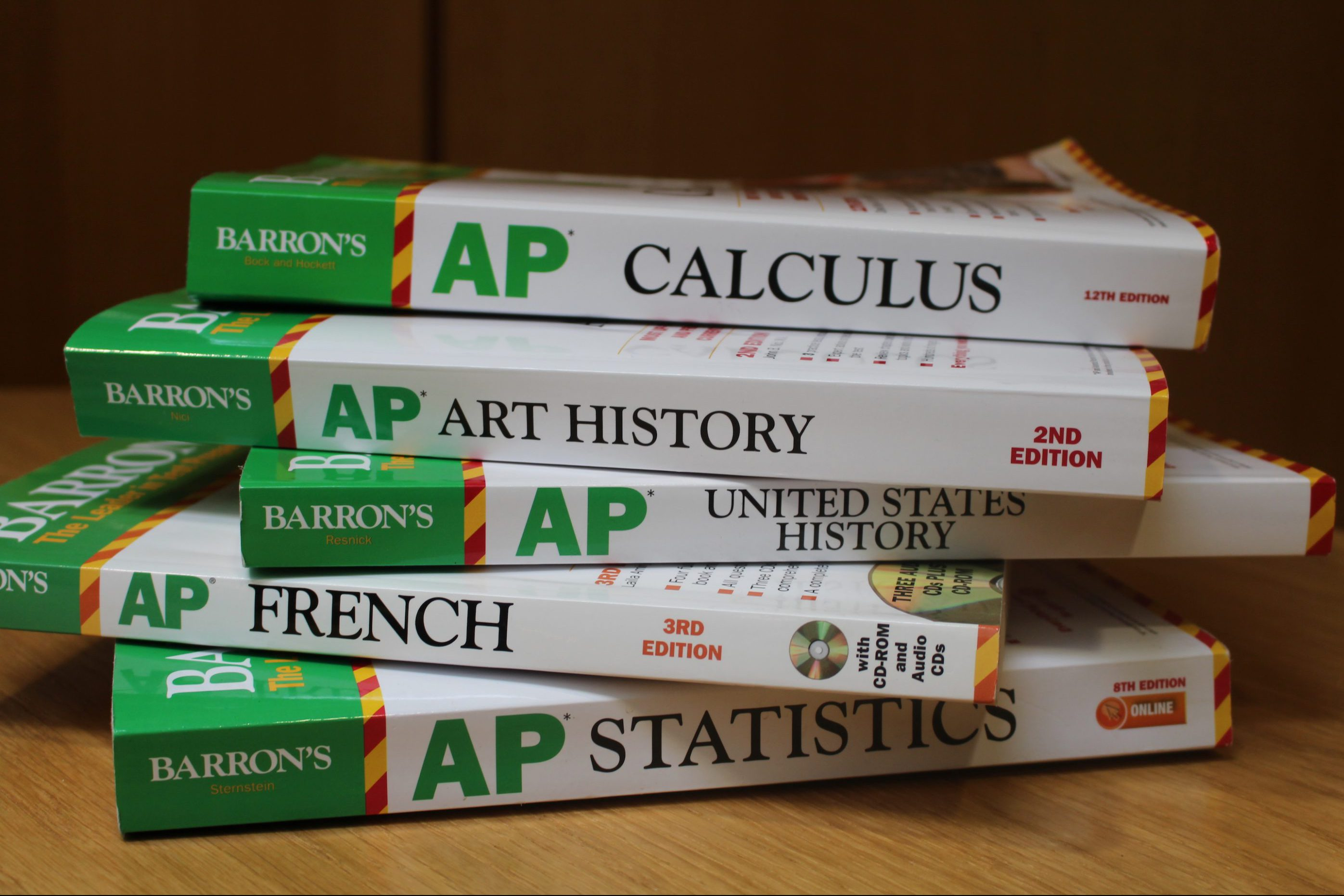 AP exams and the additional materials students use