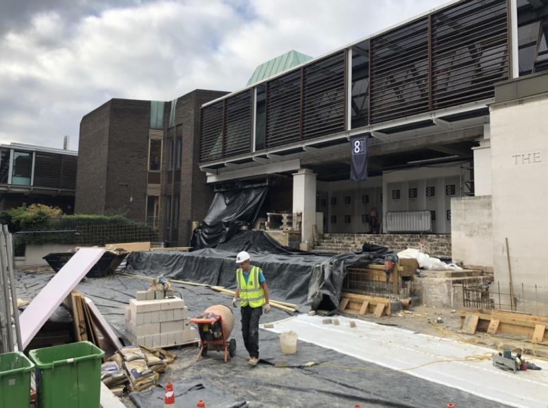 Waverley Entrance Construction Update