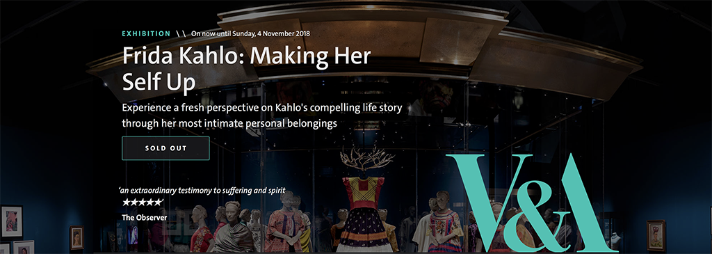 Review of Frida Kahlo: Making Her Self Up