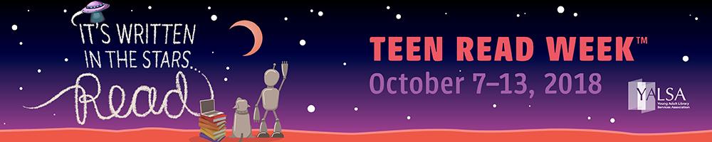 Teacher book recommendations for Teen Book Week