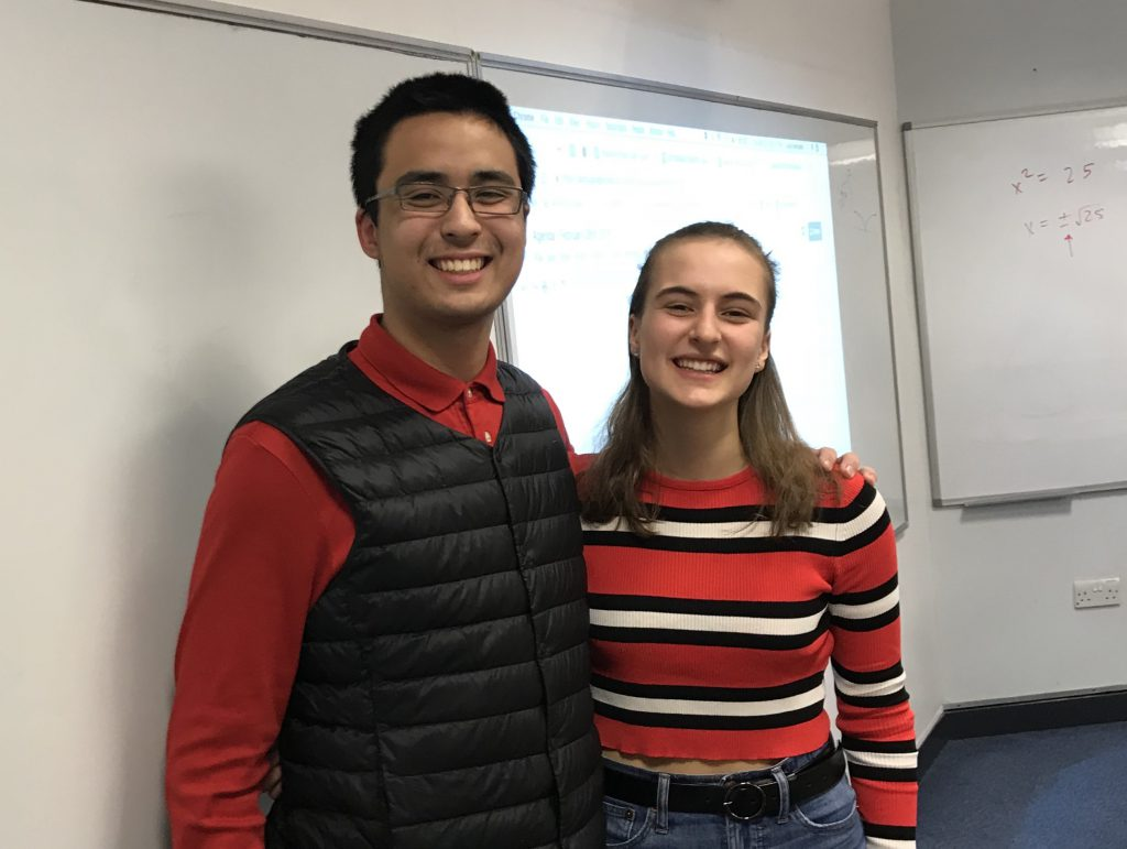 5 questions with newly elected Student Council President Natalie Vann ('20) and Vice-President Lucas Romualdo ('20)