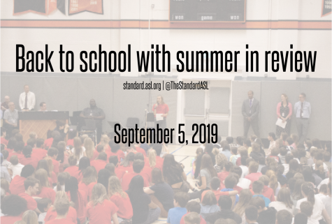 Back to School with Summer in Review