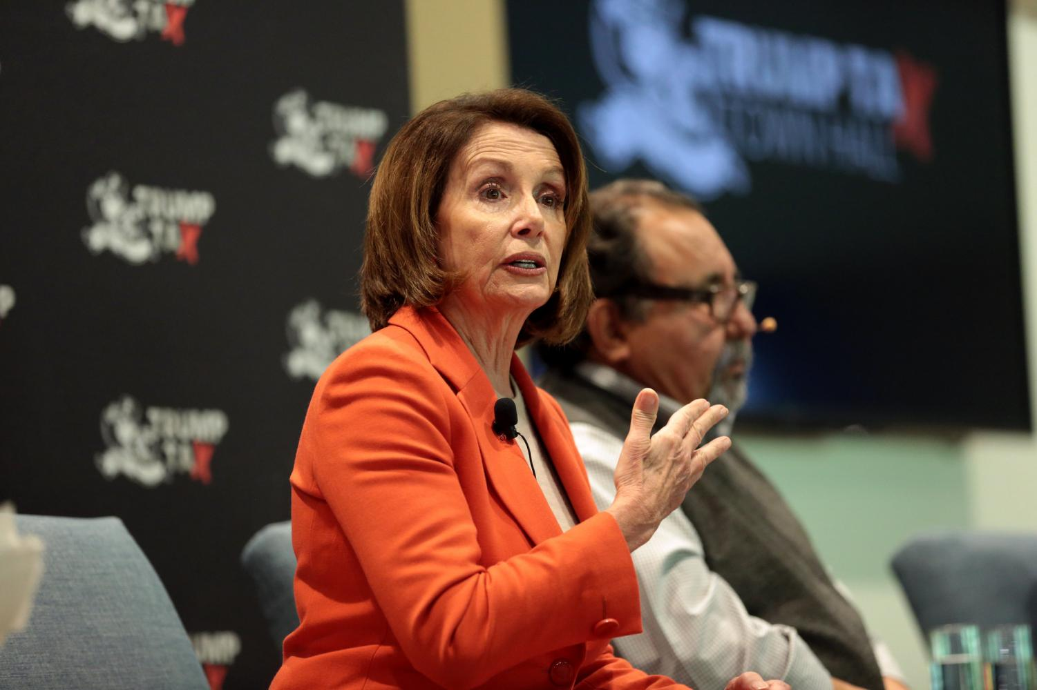 Nancy Pelosi, the Democratic Speaker of the house, is currently heavily involved in the impeachment inquiry.