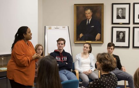 Students, faculty present at annual US College Athletic Recruitment Tea