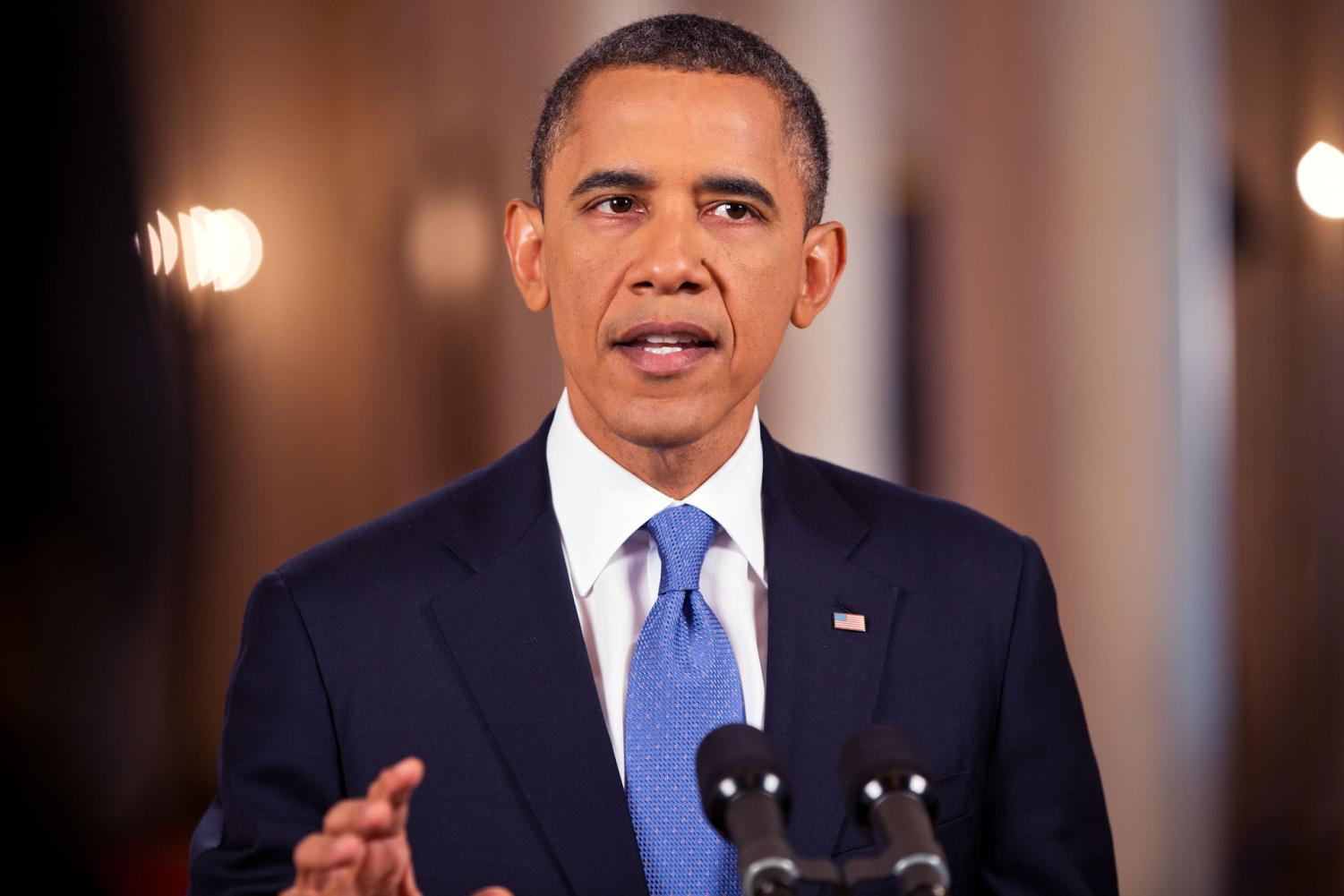 Obama spoke in an interview with Yara Shadidi about the current issues with today's