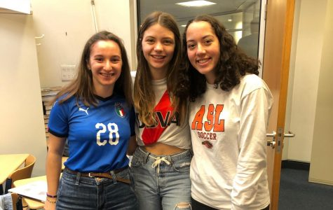 Students dress up as sports for the penultimate day of spirit week