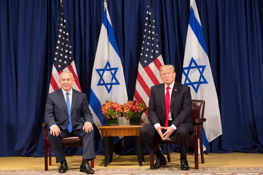 President+Donald+Trump+and+Prime+Minister+Benjamin+Netnayahu+recently+proposed+a+peace+plan+for+Israel+and+Palestine.