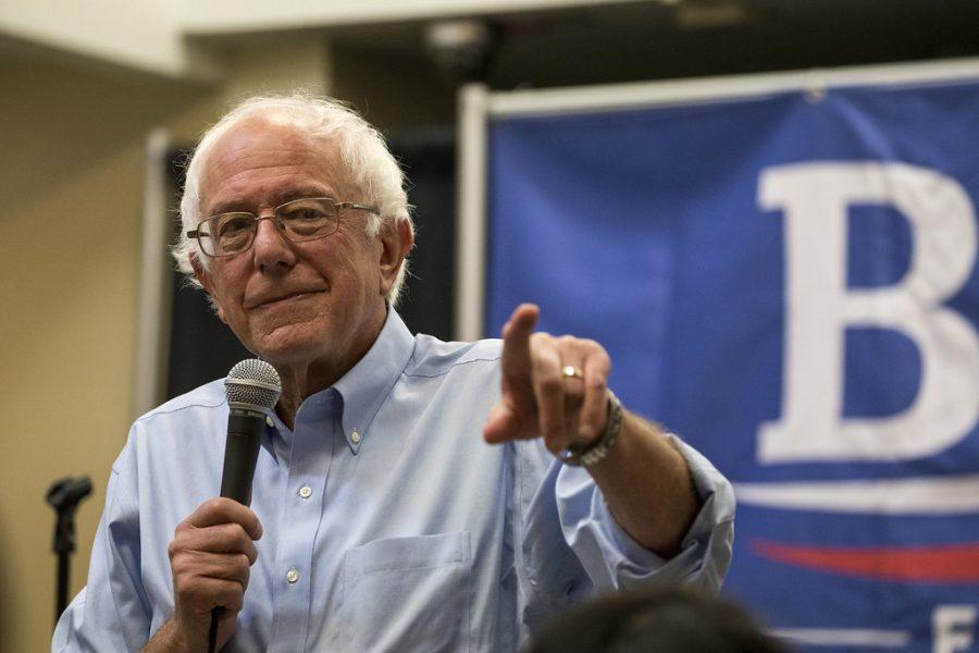 Bernie+Sanders+claimed+victory+in+the+Iowa+caucuses.+