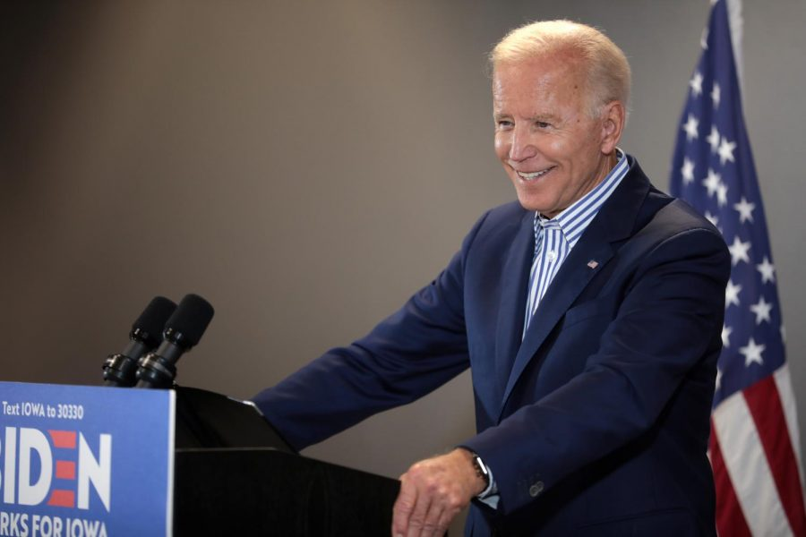 Former+Vice+President+Joe+Biden+won+10+out+of+14+primaries+on+Super+Tuesday%2C+which+occurred+March+4.+Biden+is+the+leading+moderate+candidate+for+the+Democratic+nomination+for+president.+He+is+considered+to+be+one+of+the+most+likely+winners%2C+alongside+Senator+Bernie+Sanders.
