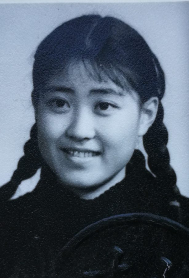Social Studies Teacher Lanting Xu when she graduated from Peking University.