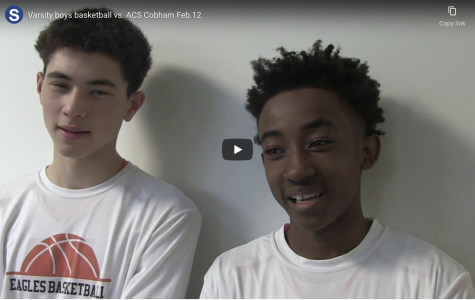 Video: boys varsity basketball vs. ACS Cobham