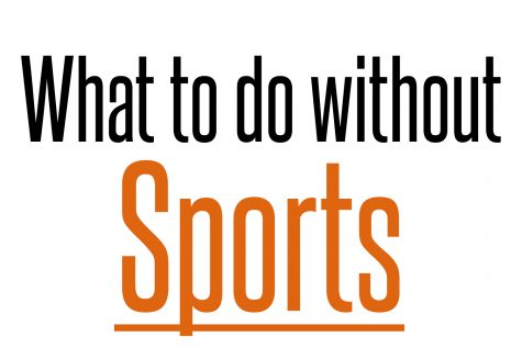 What to do without sports