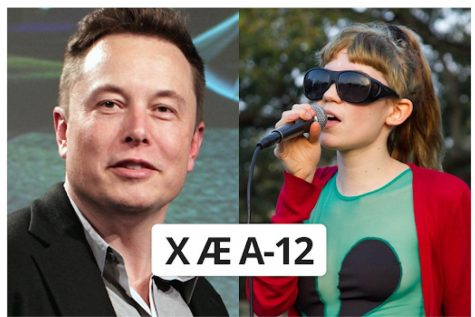 Elon Musk and Grimes have been questioned over the name of their newly born child.