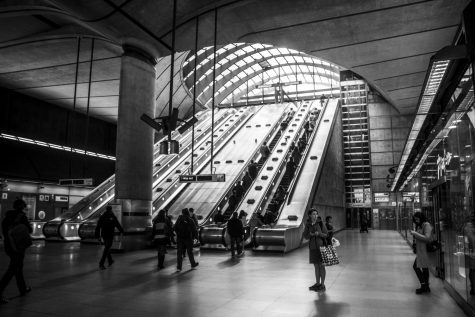 Photo of Canary Wharf tube station taken by AJ Laurienti (