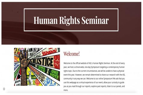 Human rights seminar celebrates student work online