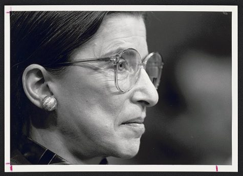 Though Ruth Bader Ginsburg passed away, she remains a symbol of the fight for justice and equality within the U.S.
