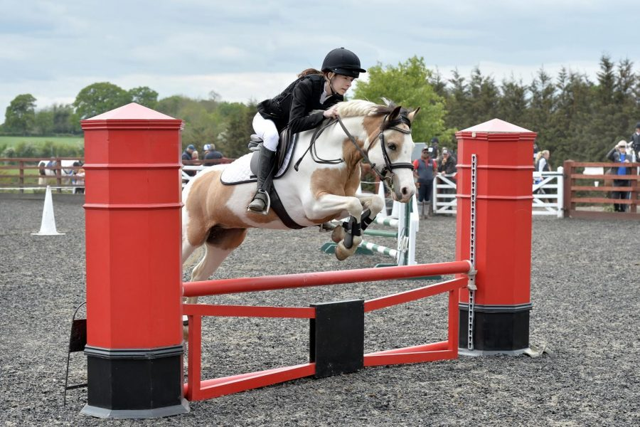 Romy Chavin competed in a show in May 2019 at Littlebourne Equestrian Centre. She came in second place.