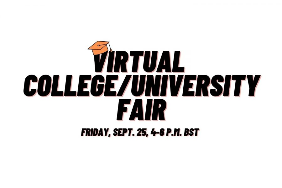 ASL hosts virtual College/University Fair Sept 25. Over 85 institutions attended and discussed their college/university with High School students and parents.