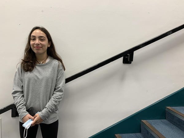Sarah Dalloul ('23) expresses her excitement to be getting back into sports here in London. For two years, she sat on the sidelines while recovering from a knee injury. Although she said there have been lasting impacts in her joints, physical therapy improved her condition.