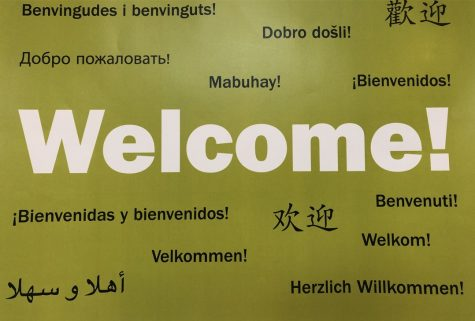 There are 64 different countries represented by the school and 52 languages spoken in the community. Members of the High School share their relationship with language.