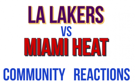 Community reacts to Lakers victory in NBA Finals