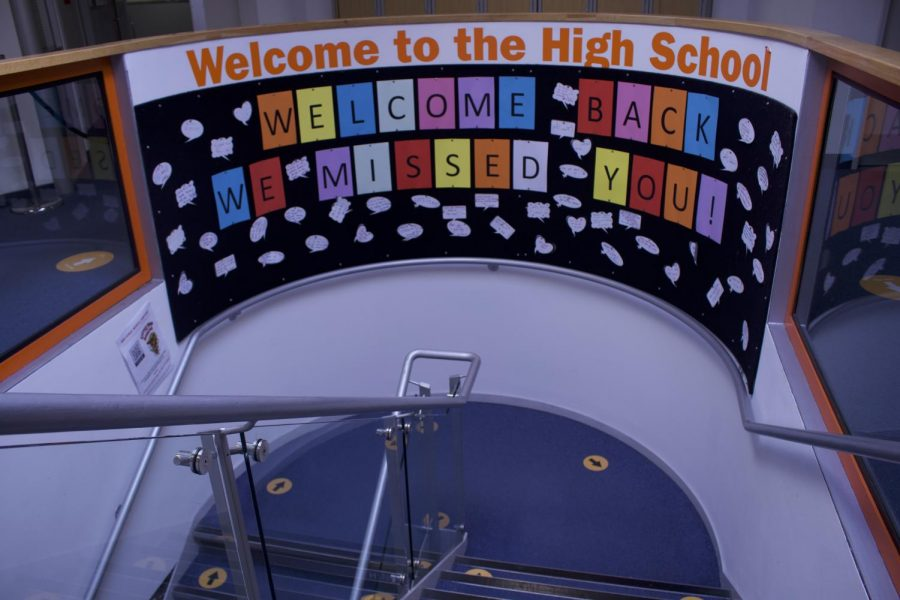 The High School welcomed 48 new students this year. Fourteen of these students reflect on how their transition is going.