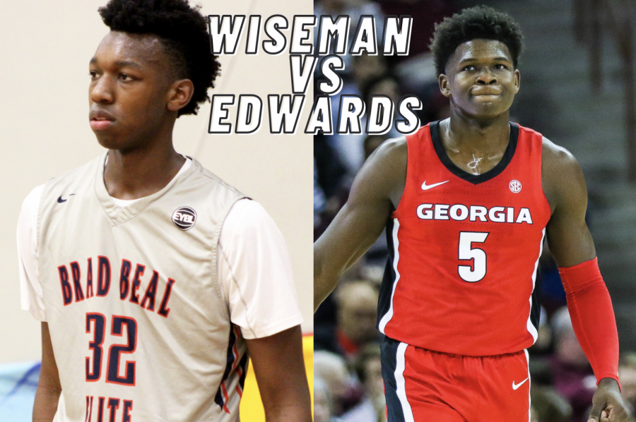 James Wiseman and Anthony Edwards were the second and first picks in the 2020 NBA draft Nov 18. Staff Writers Ruhan Bhasin and Lucas Tchelikidi debate which of the two players was the best pick of the draft.