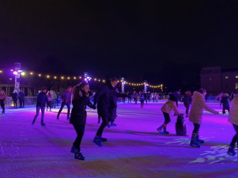 Queen's Ice Rink creates the quintessential winter experience