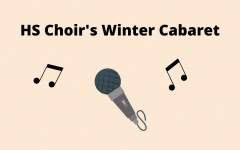 Choir students recorded pieces for a virtual cabaret performance screened Dec. 4. Students adapted to challenges set by COVID-19 restrictions such as wearing masks while singing.