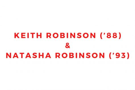 Keith Robinson ('88) and Natasha Robinson ('93)
