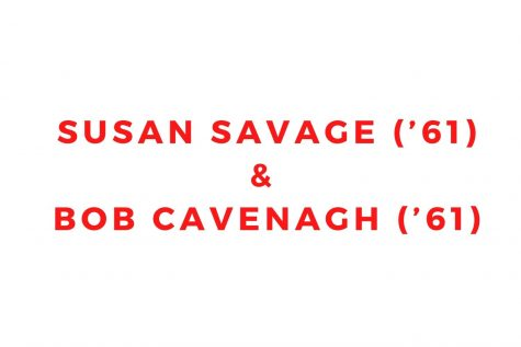 Susan Savage ('61) and Bob Cavenagh ('61)