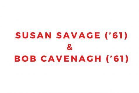 Susan Savage ('61) and Bob Cavenagh ('61)
