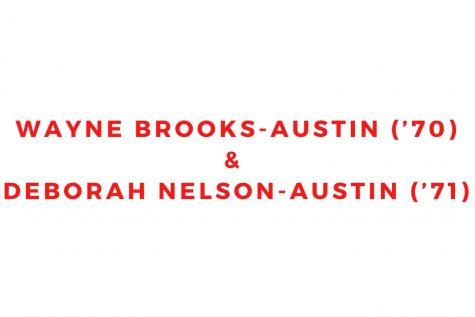 Wayne Brooks-Austin ('70) and Deborah Nelson-Austin ('71)