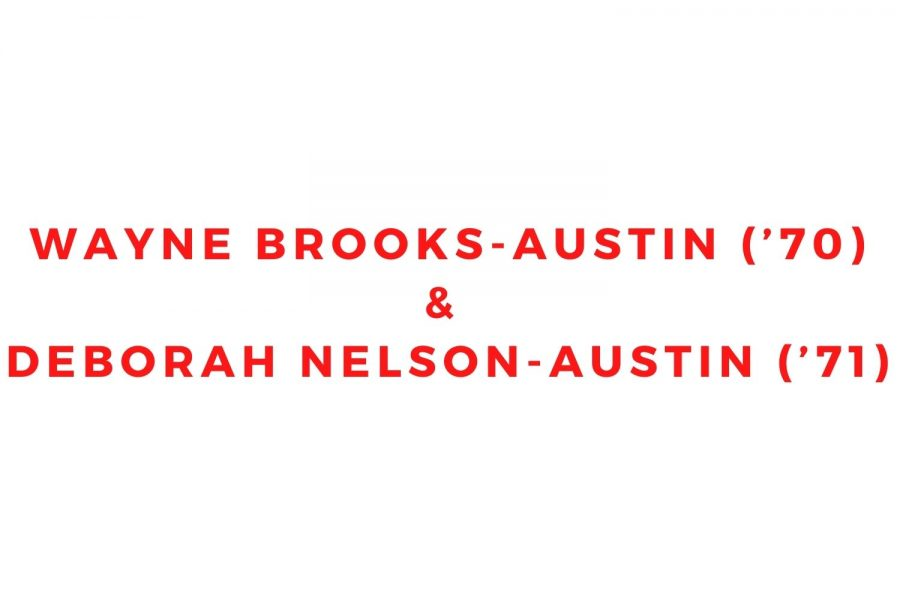 Wayne Brooks-Austin ('70) and Deborah Nelson-Austin ('71)