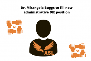 The new Director of Institutional Equity Dr. Mirangela Buggs was announced March 5. Buggs will begin July 1 as part of the school's plan to manifest the Diversity, Equity and Inclusion Statement.