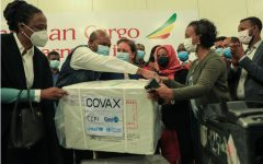 Ethiopia receives its first shipment of COVAX vaccines March 7. Ethiopia is one of many developing countries who are receiving vaccines through the COVAX initiative.