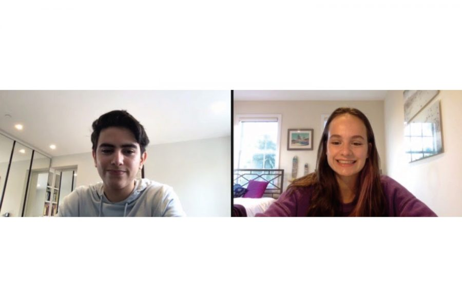 Adnan Bseisu ('22) and Maddie Wilin ('22) were elected president and vice president of StuCo March 4. The elections took place over Zoom and the final results were decided by the StuCo representatives.