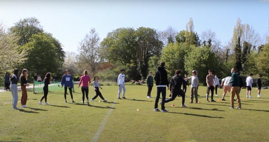 Ultimate Frisbee: ASL