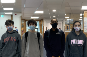 Kingston Bridges ('24), Sam Hamilton ('23), Brian Lewis ('22) and Basmah Alfayez ('21) are new to the High School this year amidst the COVID-19 pandemic. Now having made it to the final quarter of the school year, these students reflect on the experience of being new during this unusual year.