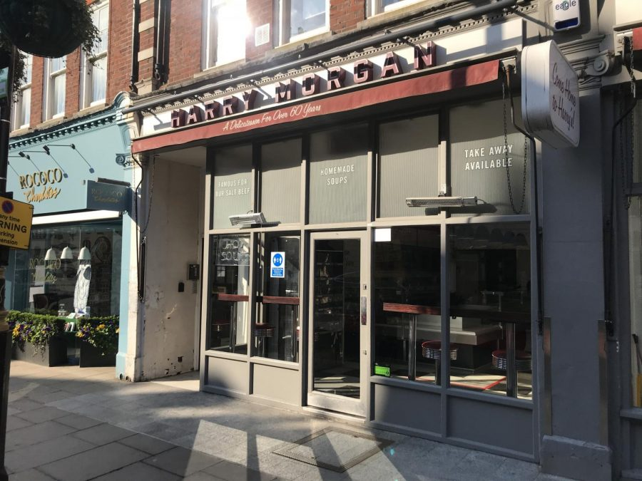 Under pandemic pressure, high street restaurant Harry Morgan closes