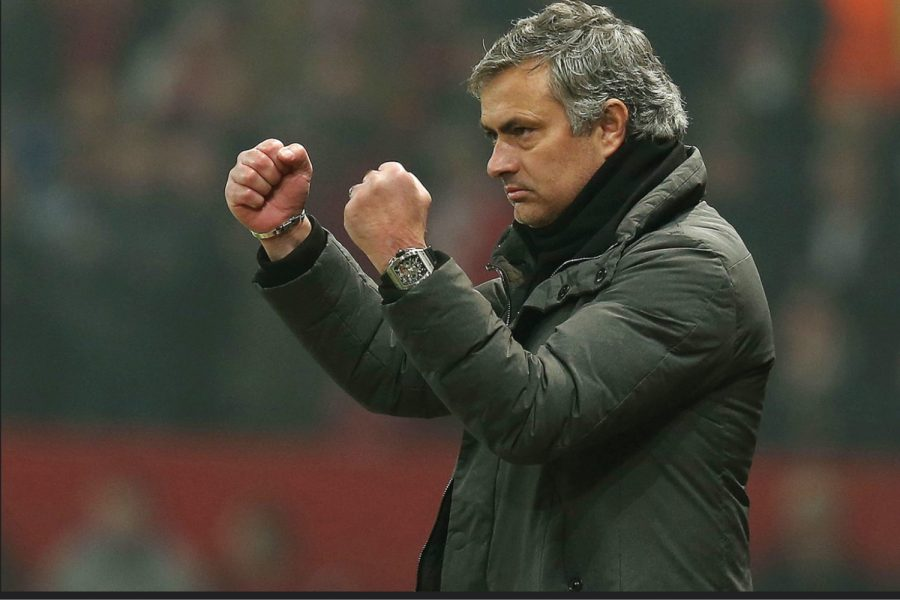Former+Chelsea+manager+Jose+Mourinho+stands+on+the+touchline+during+a+Chelsea+v+Arsenal+match.+According+to+the+BBC%2C+while+managing+Chelsea%2C+Mourinho+won+70%25+of+his+Premier+League%2C+whereas+at+Tottenham%2C+he+only+won+50%25+of+his+games%2C+per+the+BBC.