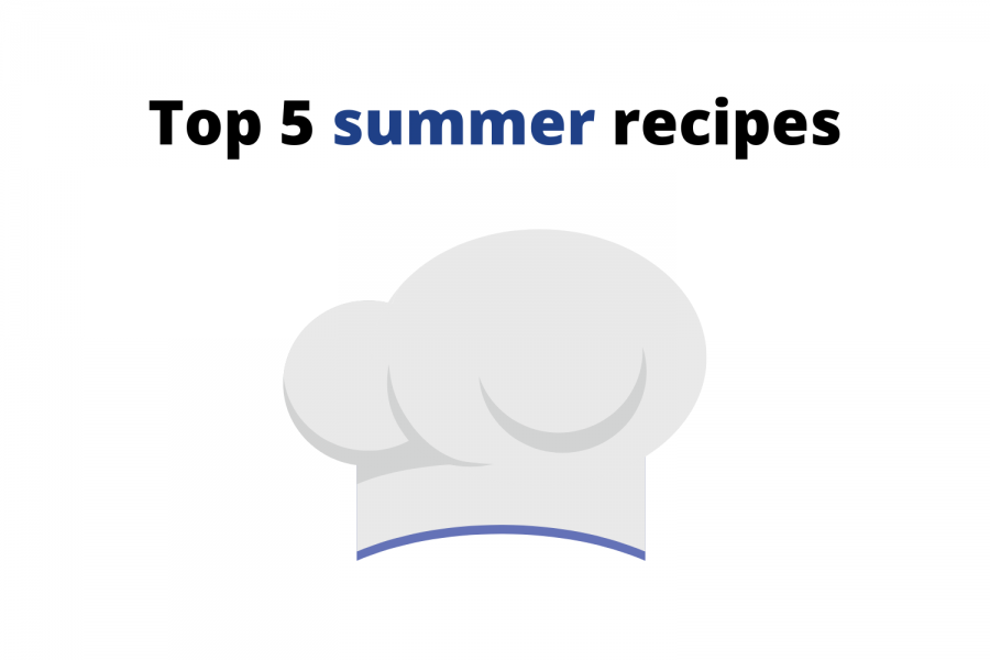 With summer weather comes a number of seasonal foods, from popsicles to corn on the cob to grilled vegetables. Here are five recipes perfect for summer.