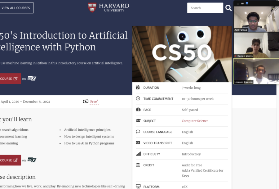 National Computer Science Honor Society to conduct artificial intelligence program